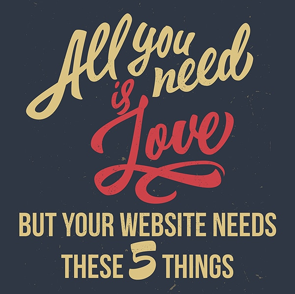 5 things your website needs