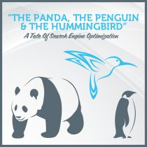 The Panda, The Penguin and The Hummingbird